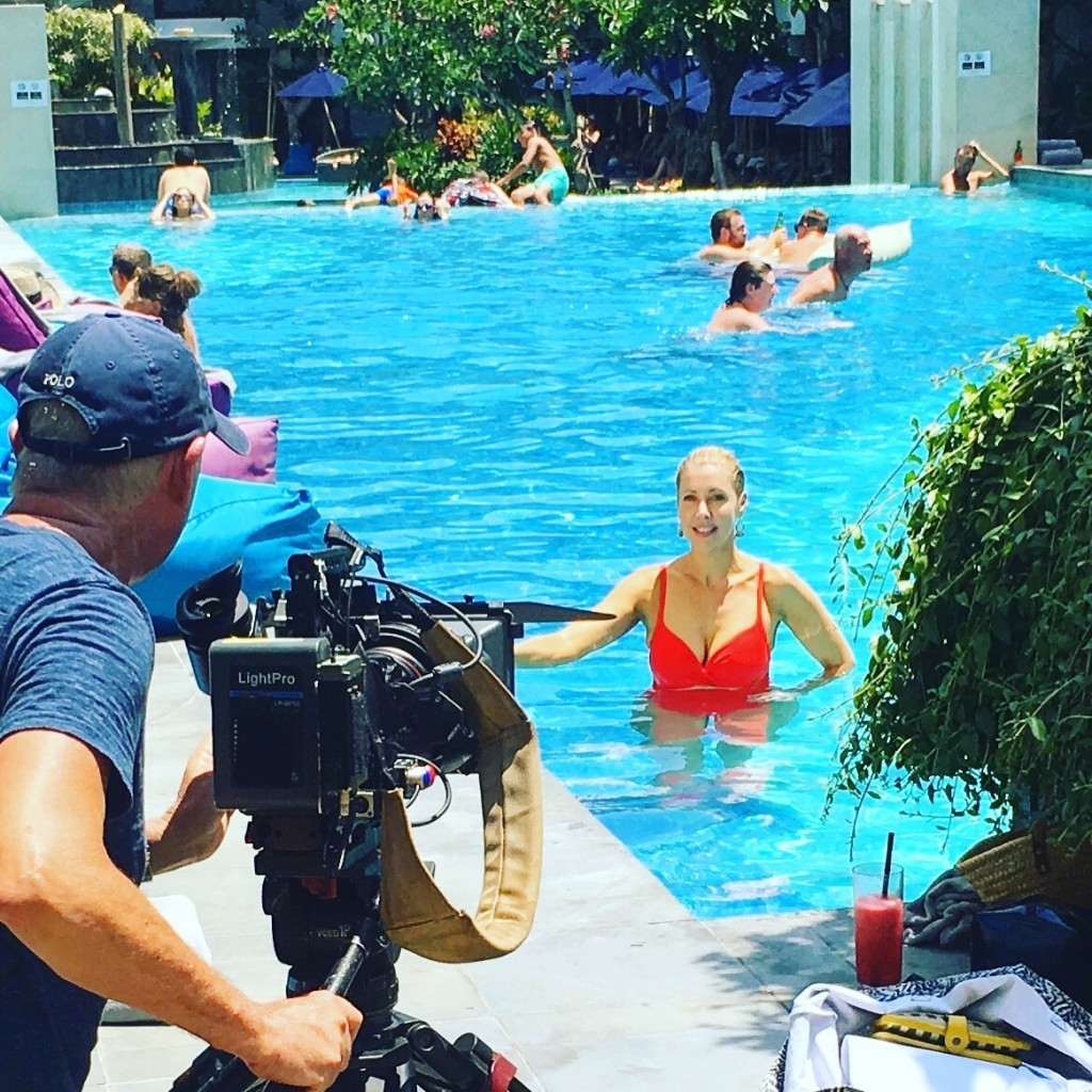 Marriott Courtyard Seminyak filming