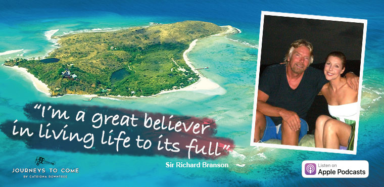 Richard Branson for Journeys to Come