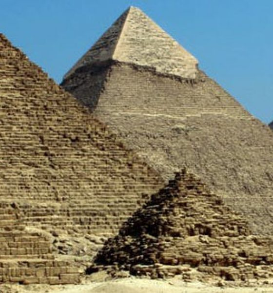 What would you pack for the pyramids?