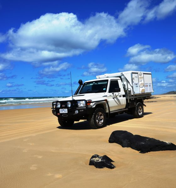 4-Wheel driving on Fraser Island: Just do it!