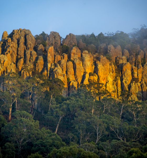 Picnicking at Hanging Rock – before it erupts into a tourism hot-spot