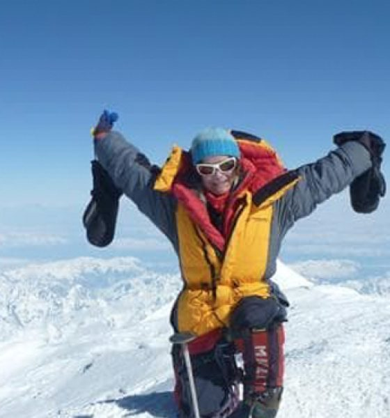 Inspired by her – seven successful summits