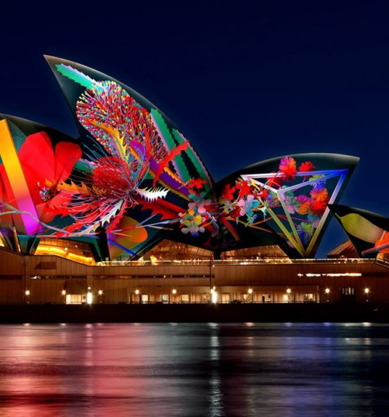 Five days to 'glow' until Vivid Sydney's 10th birthday celebrations