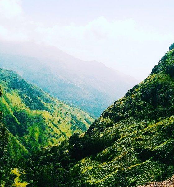 Reaching higher ground, in Sri Lanka